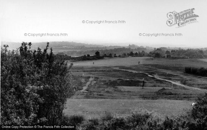 Photo of Crowborough, Golf Course c.1960