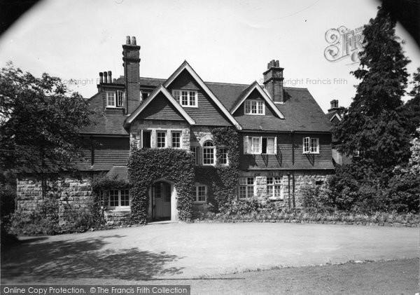 Photo of Crowborough, Ivy Hall c.1955