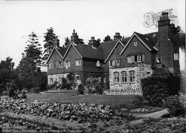 Photo of Crowborough, Ivy Hall Hotel c.1955