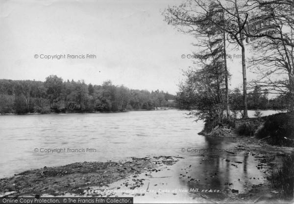 Photo of Crowborough, Lake At New Mill 1900