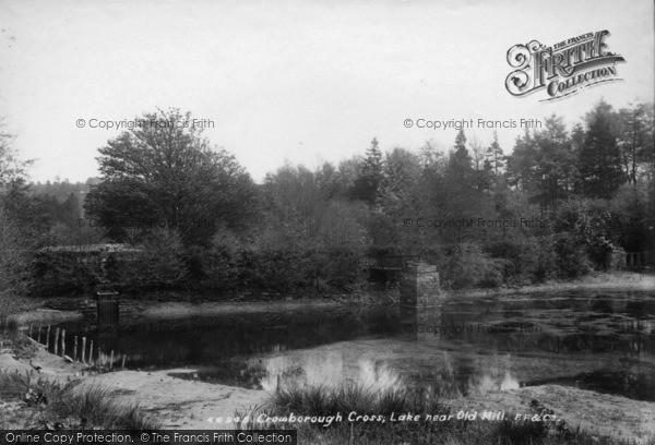 Photo Of Crowborough Lake Near Old Mill 1900
