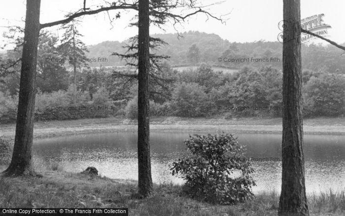 Photo of Crowborough, New Mill Lake c.1955
