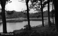 Crowborough, New Mill Lake c.1955