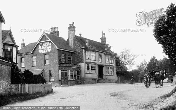Photo of Crowborough, Red Cross Hotel, Beacon Road 1900