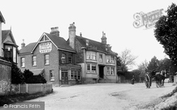 Crowborough, Red Cross Hotel, Beacon Road 1900