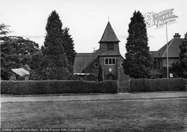 Photo of Crowborough, Roman Catholic Church Of St Mary c.1955