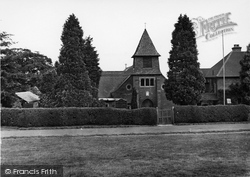 Crowborough, Roman Catholic Church Of St Mary c.1955