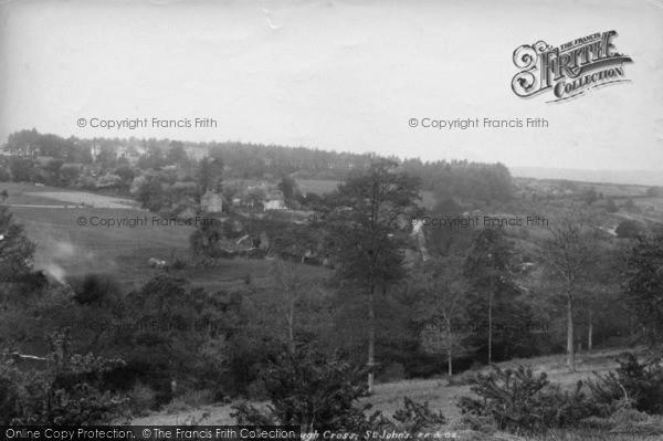 Photo of Crowborough, St John's 1900