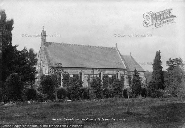 Photo of Crowborough, St John's Church 1900