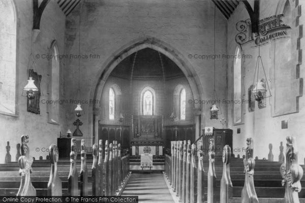 Photo of Crowborough, St John's Church Interior 1900