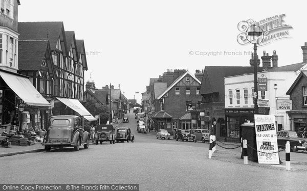 Photo of Crowborough, The Broadway 1954