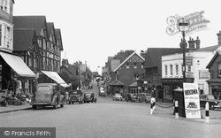 Crowborough, The Broadway 1954