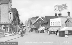 Crowborough, The Broadway c.1955