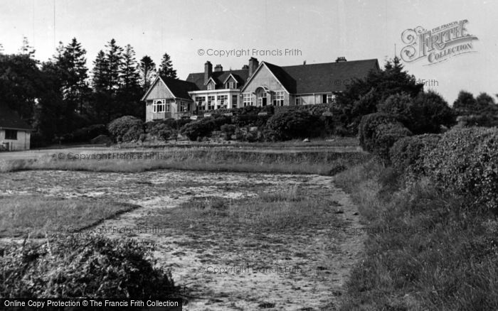 Photo of Crowborough, The Club House c.1955