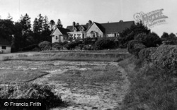 Crowborough, The Club House c.1955