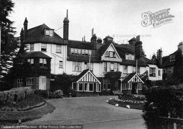 Photo of Crowborough, The Crest c.1955