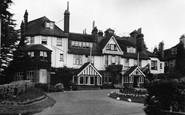 Crowborough, The Crest c1955