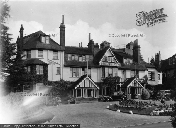 Photo of Crowborough, The Crest Hotel c.1950