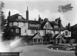 Crowborough, The Crest Hotel c.1950