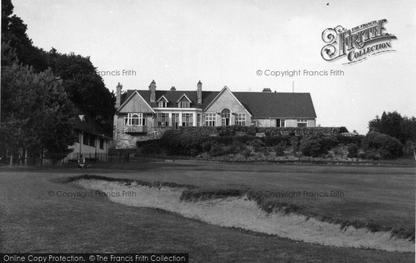 Photo of Crowborough, The Golf Club House c.1950