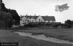 Crowborough, The Golf Club House c.1950