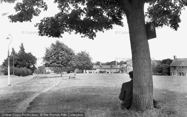 Photo of Crowborough, The Green c.1955