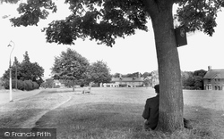 Crowborough, The Green c.1955