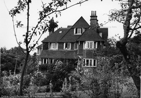 Photo of Crowborough, The Rowans c.1955