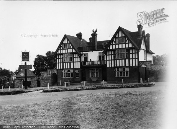 Photo of Crowborough, The White Hart c.1955