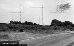 Crowborough, The Wireless Station c.1955