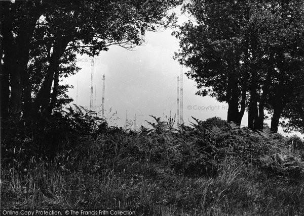 Photo of Crowborough, The Wireless Station c.1955