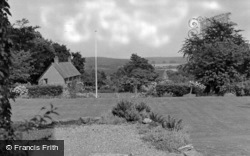 Crowborough, View From Country House Hotel c.1955