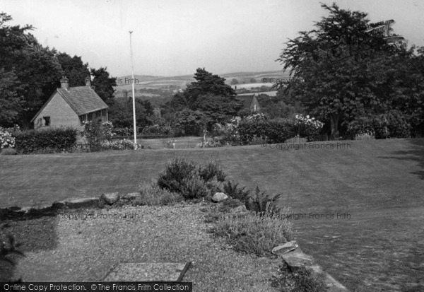 Photo of Crowborough, View From Country House Hotel c.1955