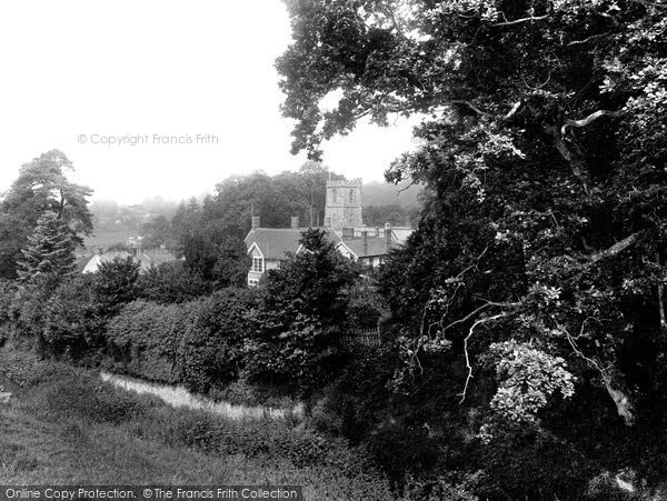 Photo of Crowcombe, The Village 1929