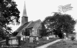 St George's Church 1907, Crowhurst