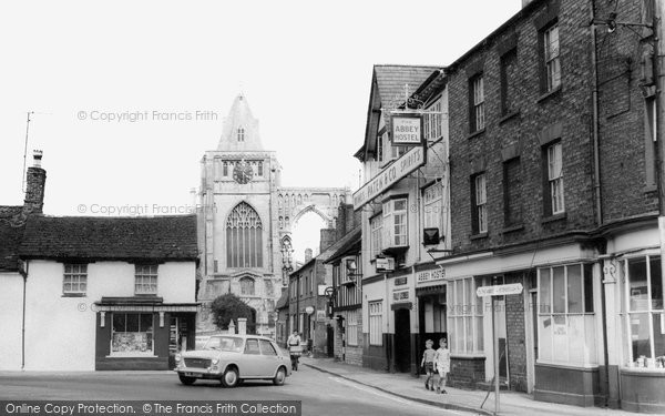 Photo of Crowland, the Abbey Hostel c1965