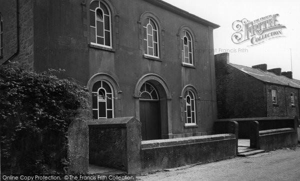 Crowlas, Wesleyan Chapel c1960