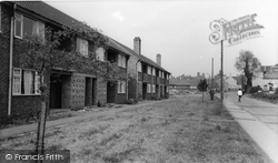 Crowle, Convent Flats c.1965