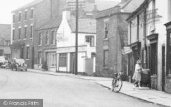 Crowle, Cross Street c.1955