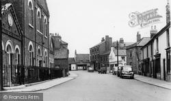 Crowle, Cross Street c.1960