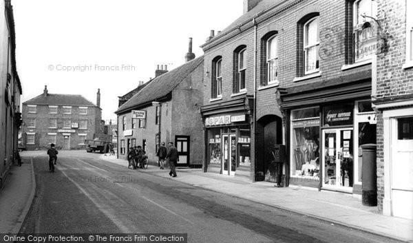 Photo of Crowle, High Street c1960