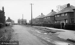 Crowle, Johnsons Lane c.1955