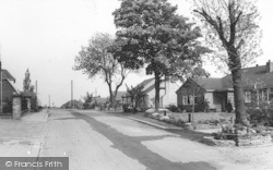 Crowle, Mill Road c.1965