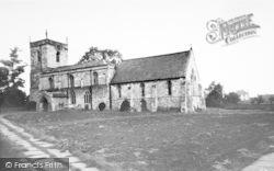 Crowle, St Oswald's Church c.1955
