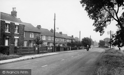 Crowle, Station Road c.1955
