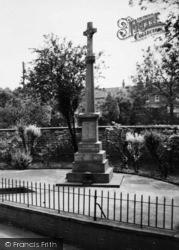 Crowle, War Memorial c.1960