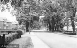 Crowle, Wharf Road  1960
