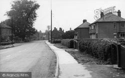 Crowle, Wharfe Road c.1955
