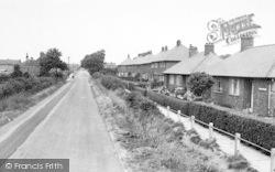 Crowle, Windsor Lane c.1955