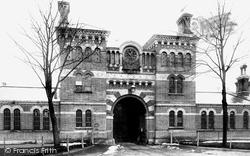 Crowthorne, Broadmoor Asylum Entrance 1908